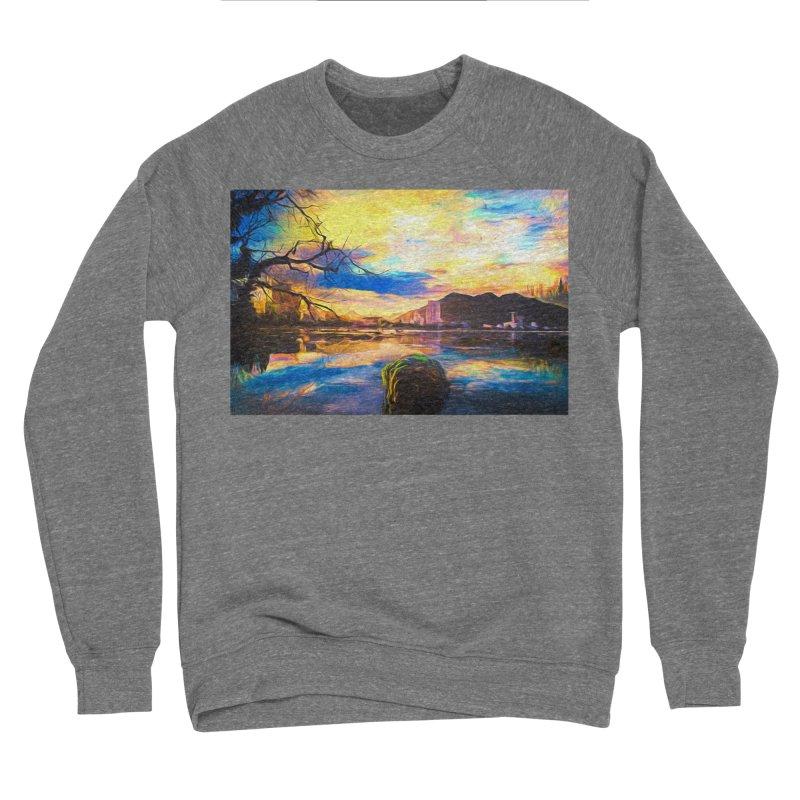 Reflections Men's Sponge Fleece Sweatshirt by Jasmina Seidl's Artist Shop