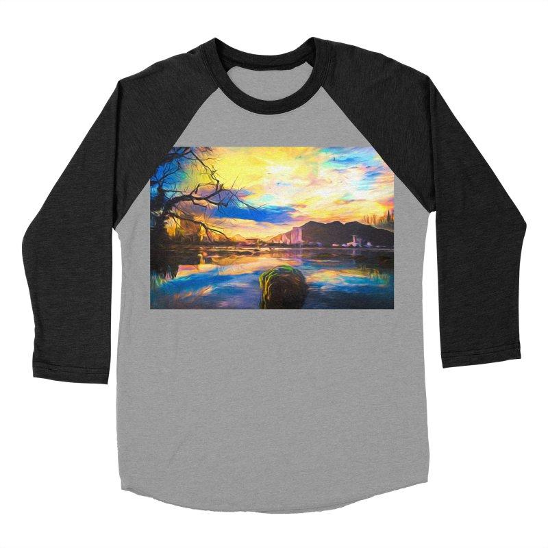 Reflections Men's Baseball Triblend Longsleeve T-Shirt by Jasmina Seidl's Artist Shop
