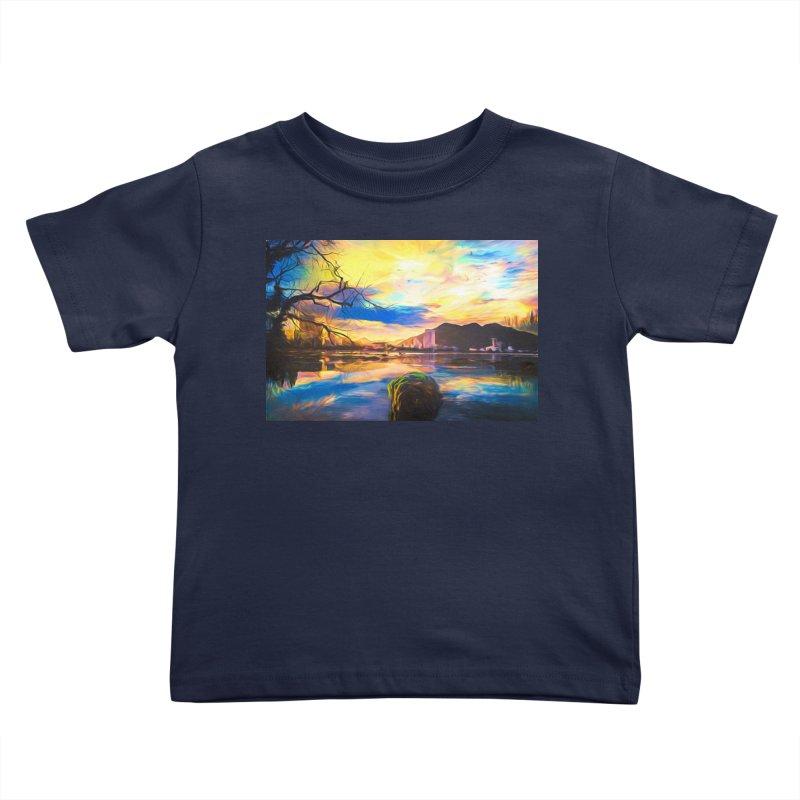 Reflections Kids Toddler T-Shirt by Jasmina Seidl's Artist Shop