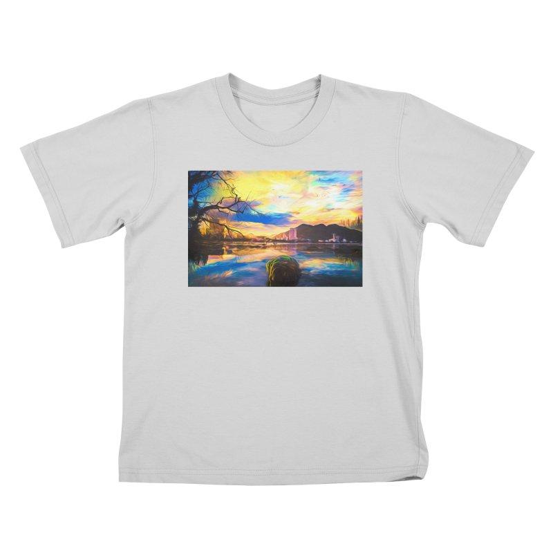 Reflections Kids T-Shirt by Jasmina Seidl's Artist Shop