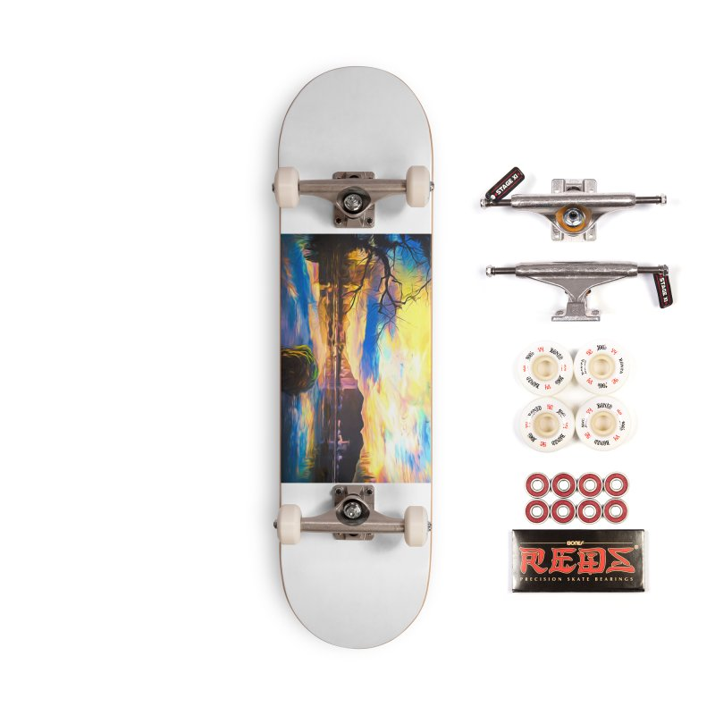 Reflections Accessories Complete - Pro Skateboard by Jasmina Seidl's Artist Shop