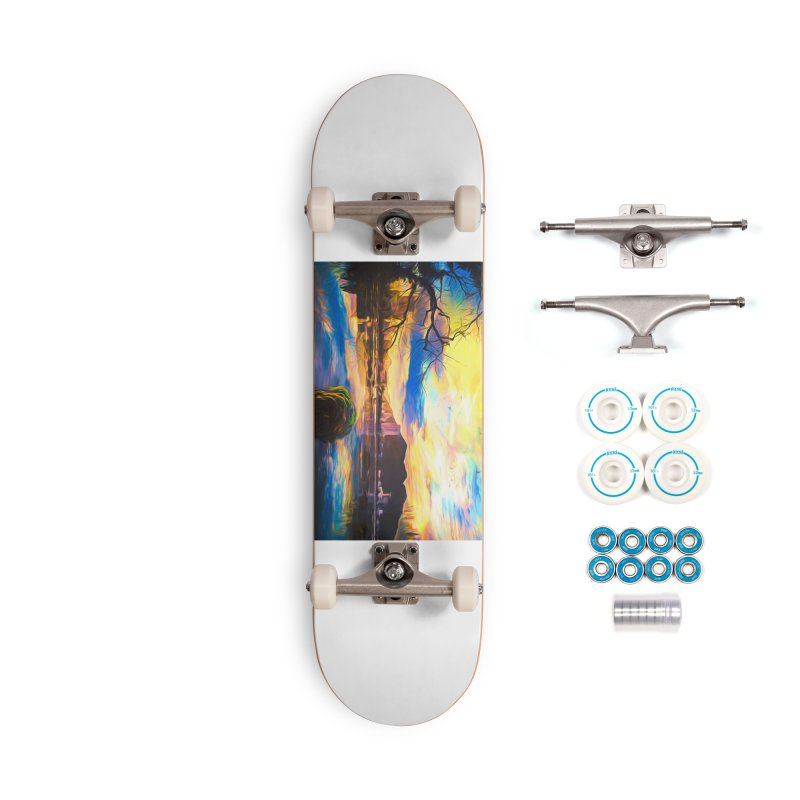 Reflections Accessories Complete - Basic Skateboard by Jasmina Seidl's Artist Shop