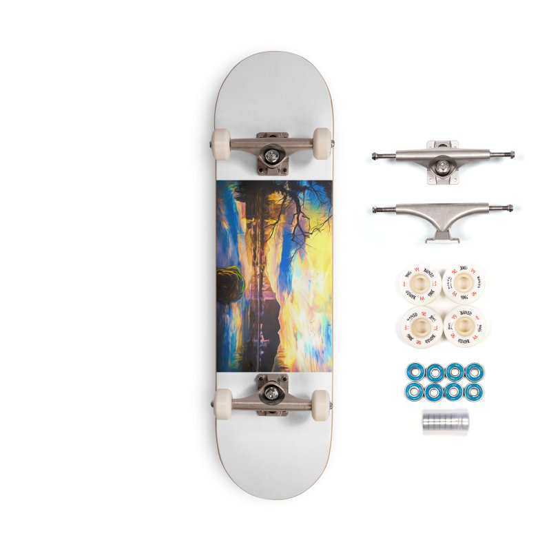 Reflections Accessories Complete - Premium Skateboard by Jasmina Seidl's Artist Shop