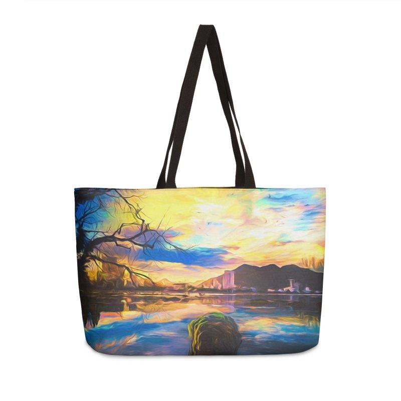 Reflections Accessories Weekender Bag Bag by Jasmina Seidl's Artist Shop