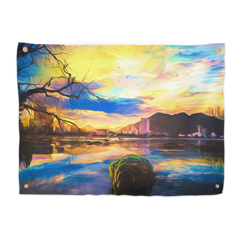 Reflections Home Tapestry by Jasmina Seidl's Artist Shop
