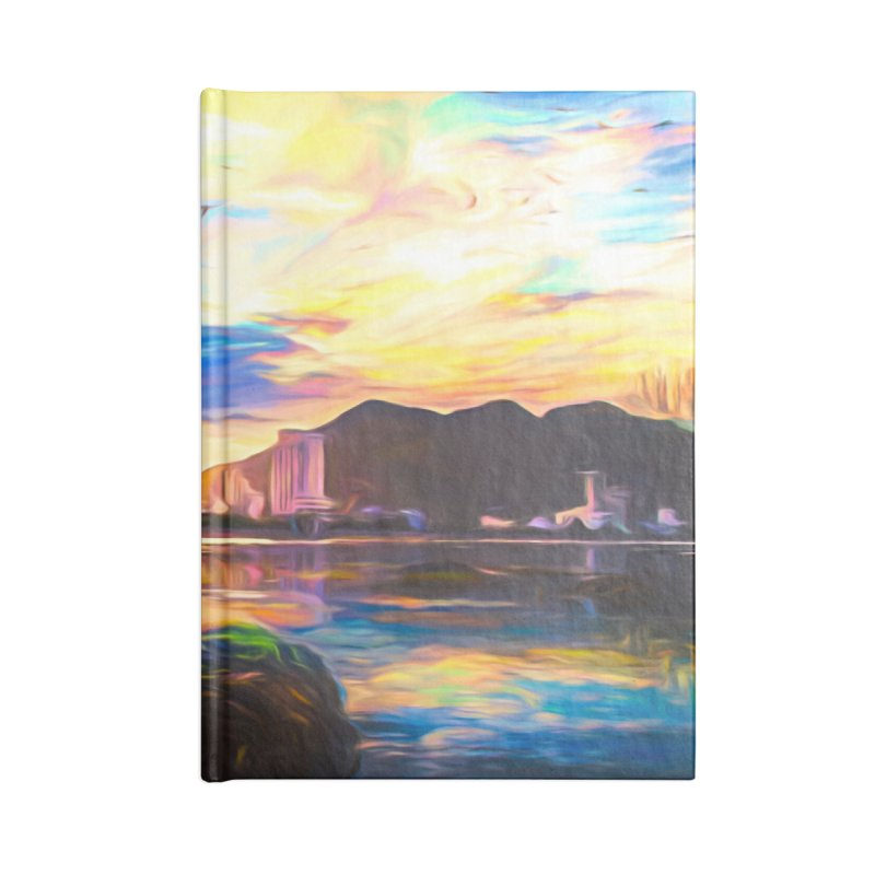 Reflections Accessories Blank Journal Notebook by Jasmina Seidl's Artist Shop
