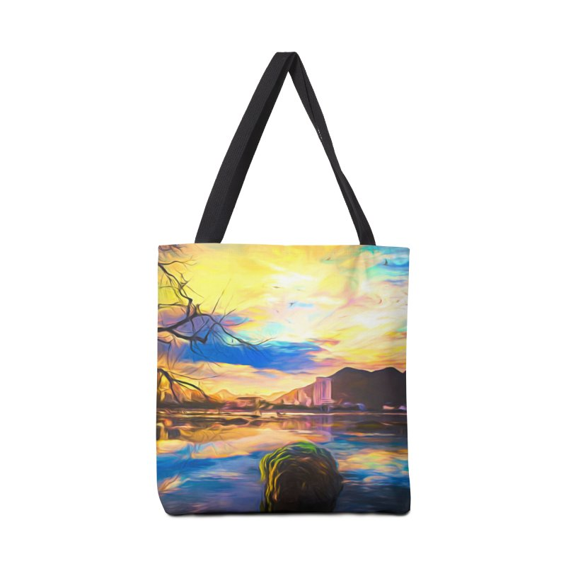 Reflections Accessories Tote Bag Bag by Jasmina Seidl's Artist Shop