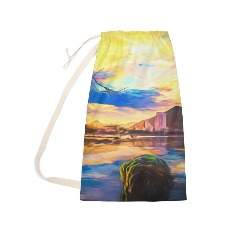 Reflections Accessories Laundry Bag Bag by Jasmina Seidl's Artist Shop