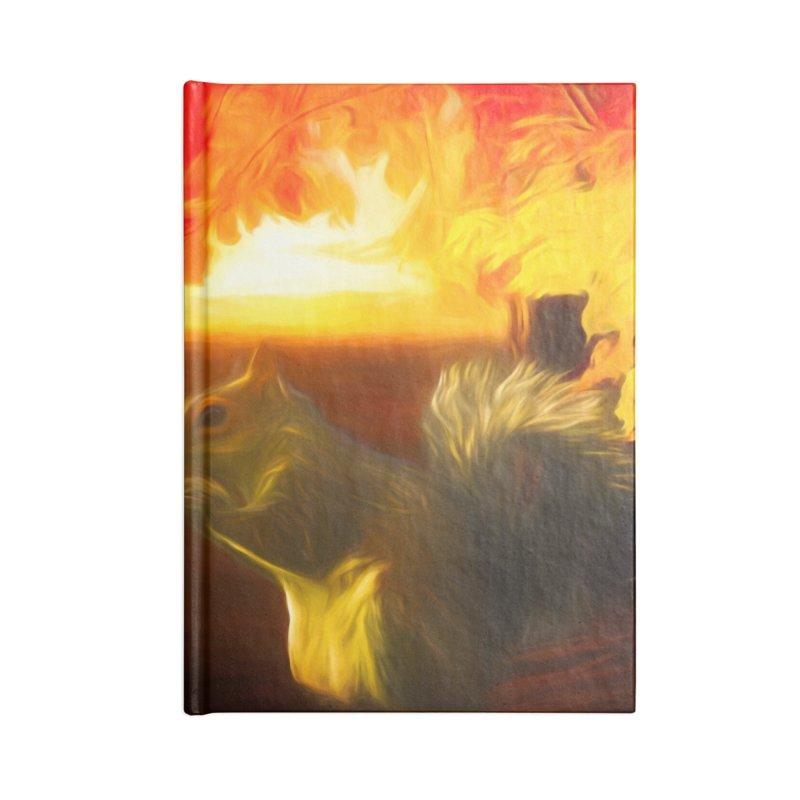 Animal Friends Accessories Blank Journal Notebook by Jasmina Seidl's Artist Shop
