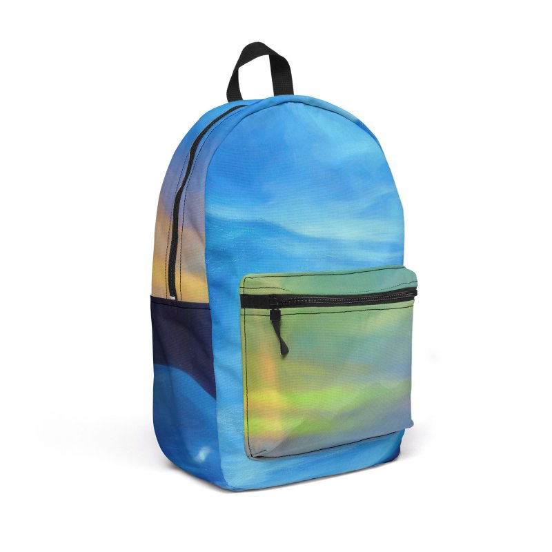 The Only Witness 2 Accessories Backpack Bag by Jasmina Seidl's Artist Shop