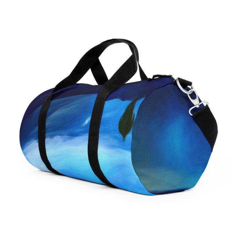 The Only Witness 2 Accessories Duffel Bag Bag by Jasmina Seidl's Artist Shop