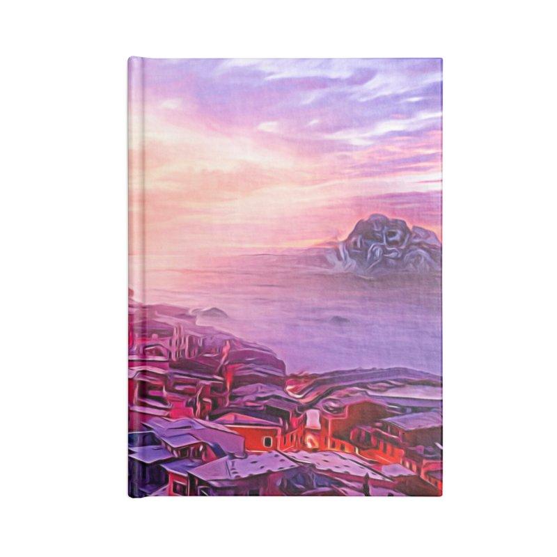 Dreamy Sunset Accessories Blank Journal Notebook by Jasmina Seidl's Artist Shop