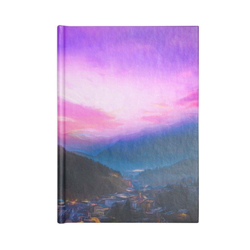 Hidden Village Accessories Blank Journal Notebook by Jasmina Seidl's Artist Shop