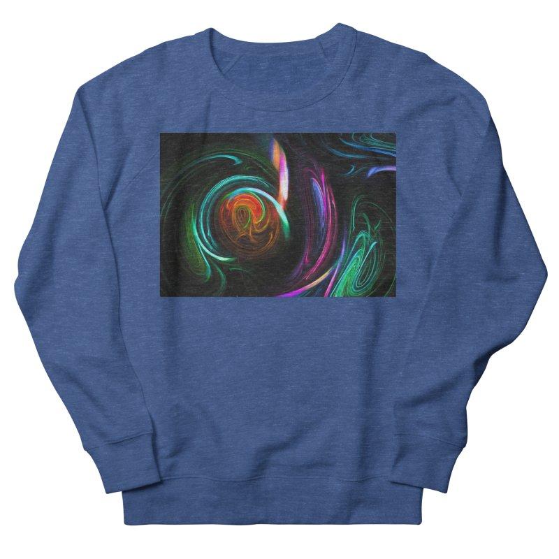 Fractal Swirl Women's French Terry Sweatshirt by Jasmina Seidl's Artist Shop