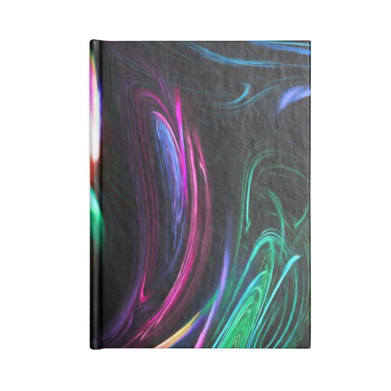 Fractal Swirl Accessories Blank Journal Notebook by Jasmina Seidl's Artist Shop