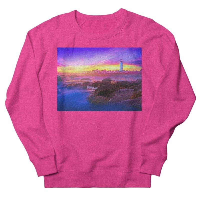 Lilac Dreams Women's French Terry Sweatshirt by Jasmina Seidl's Artist Shop