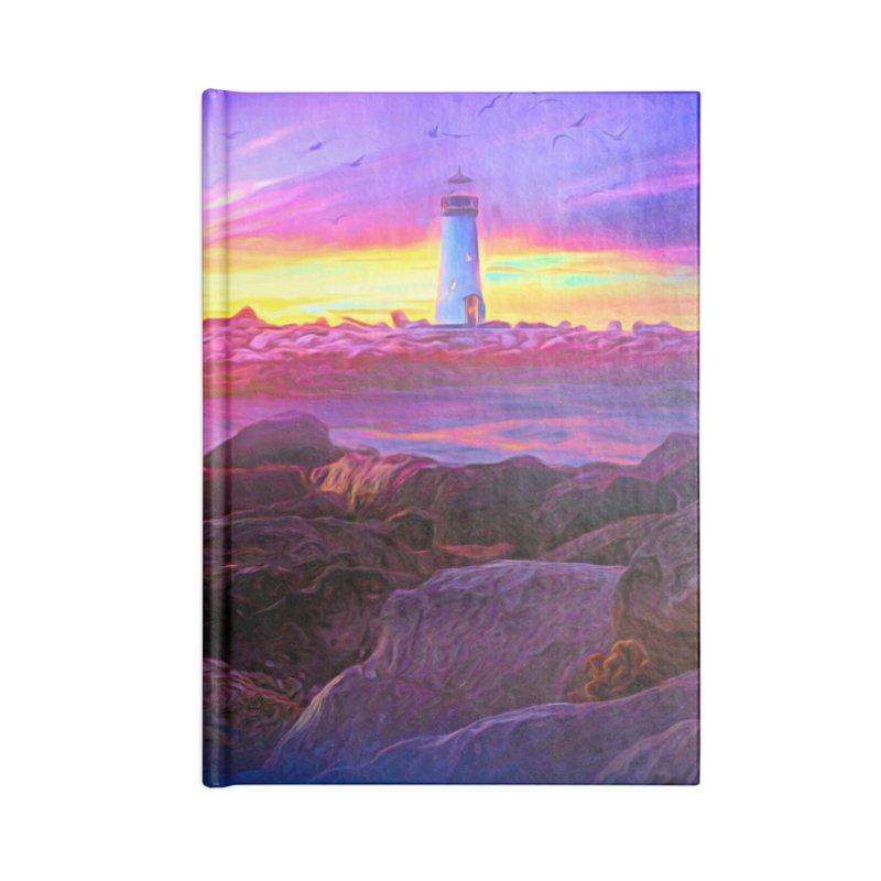 Lilac Dreams Accessories Blank Journal Notebook by Jasmina Seidl's Artist Shop