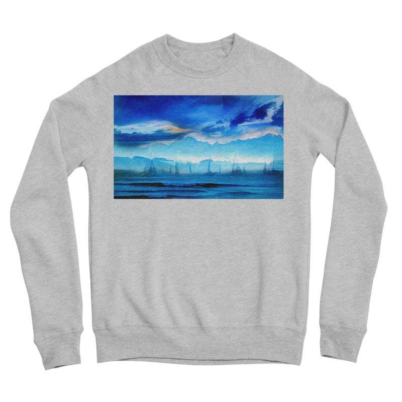 Blue Dreams Men's Sponge Fleece Sweatshirt by Jasmina Seidl's Artist Shop