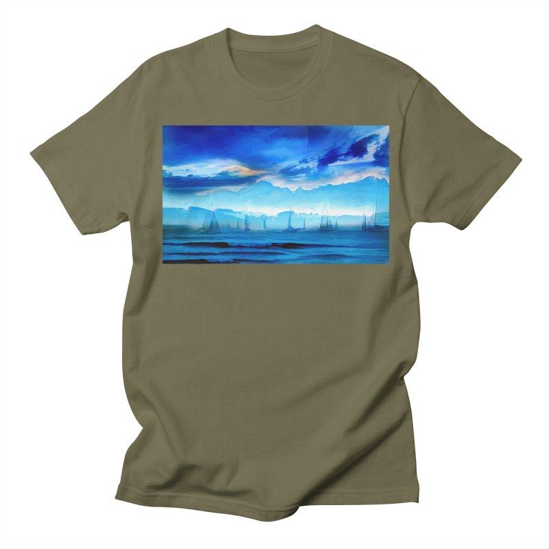 Blue Dreams Women's Regular Unisex T-Shirt by Jasmina Seidl's Artist Shop