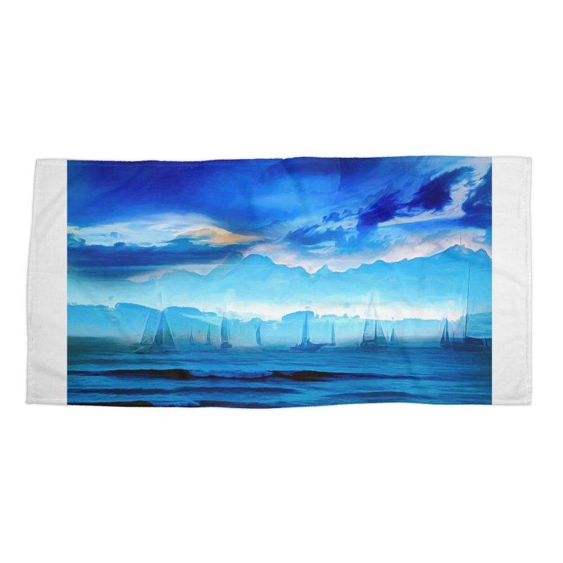 Blue Dreams Accessories Beach Towel by Jasmina Seidl's Artist Shop