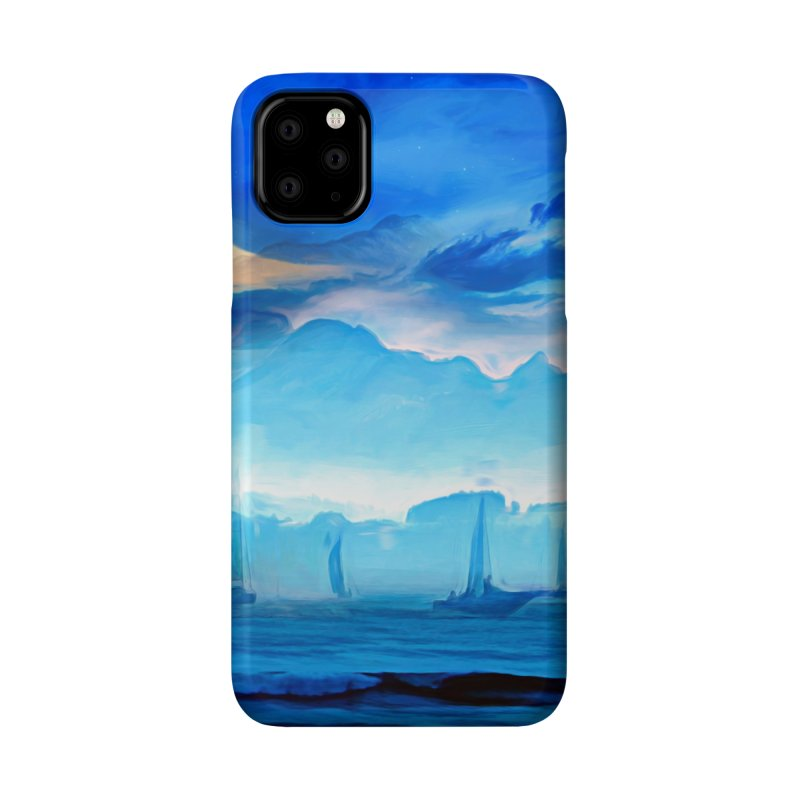 Blue Dreams Accessories Phone Case by Jasmina Seidl's Artist Shop