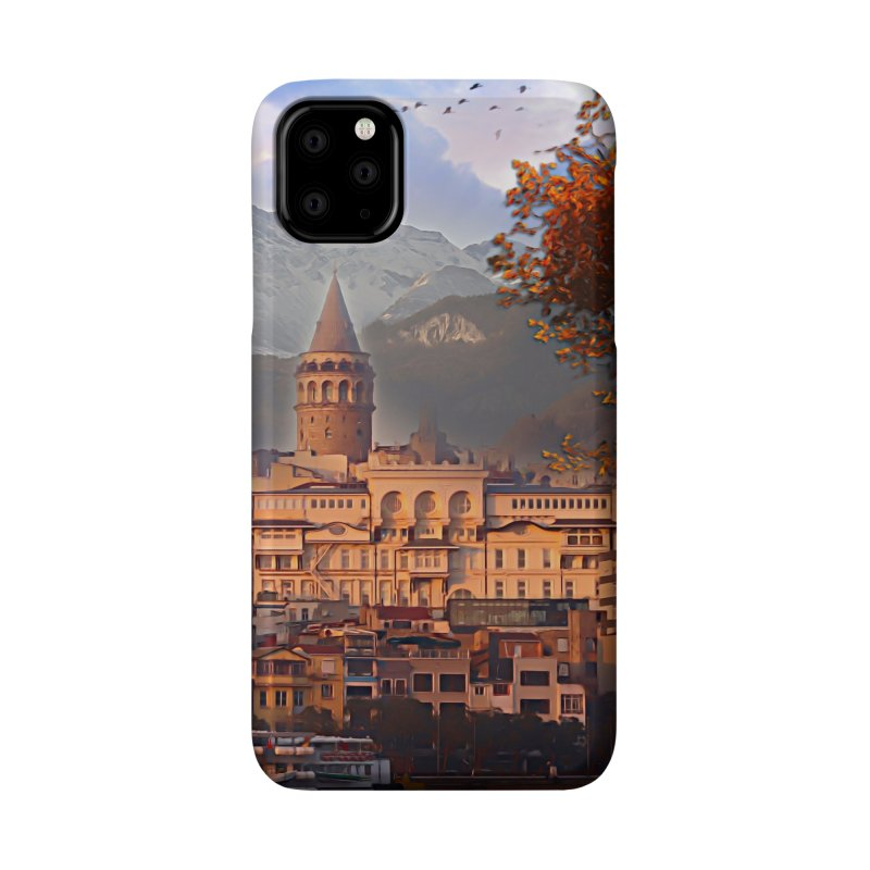 Village on the mountainside Accessories Phone Case by Jasmina Seidl's Artist Shop