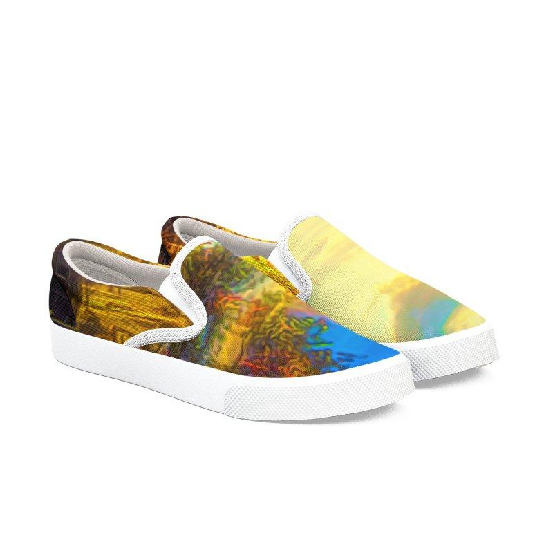 Notre Dame Paris Men's Slip-On Shoes by Jasmina Seidl's Artist Shop