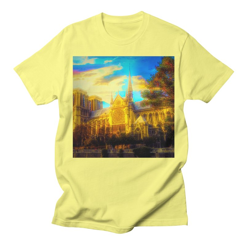 Notre Dame Paris Women's Regular Unisex T-Shirt by Jasmina Seidl's Artist Shop