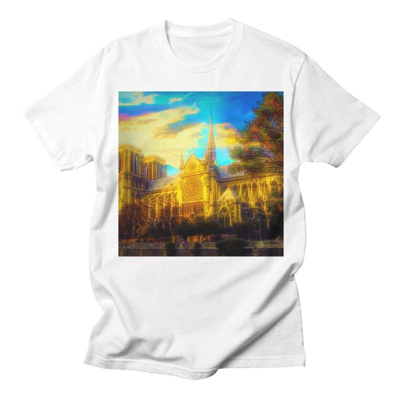 Notre Dame Paris Women's Regular Unisex T-Shirt by Jasmina Seidl's Artist Shop