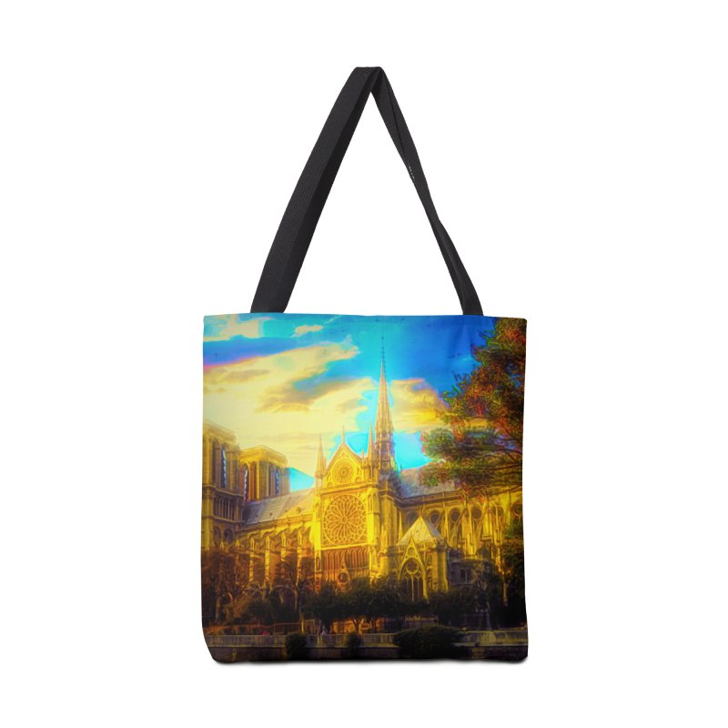 Notre Dame Paris Accessories Tote Bag Bag by Jasmina Seidl's Artist Shop