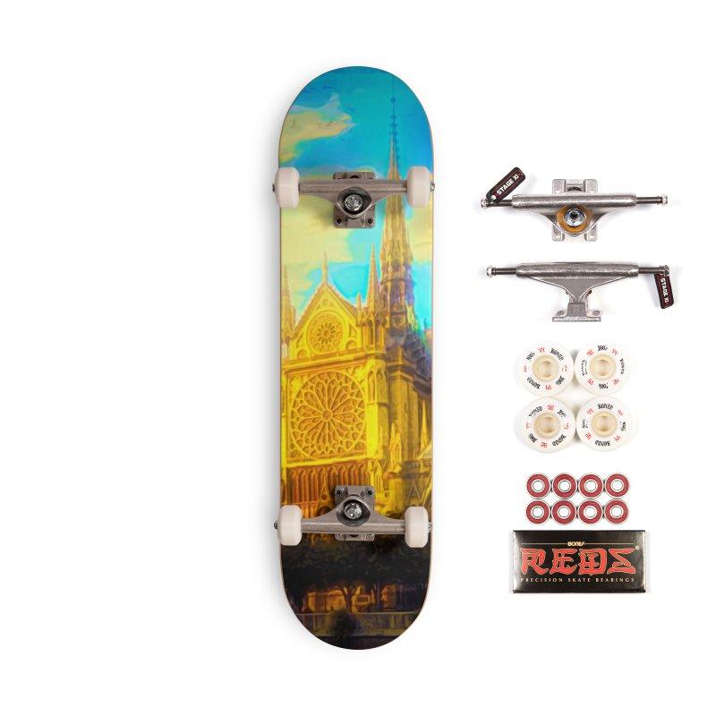 Notre Dame Paris Accessories Complete - Pro Skateboard by Jasmina Seidl's Artist Shop