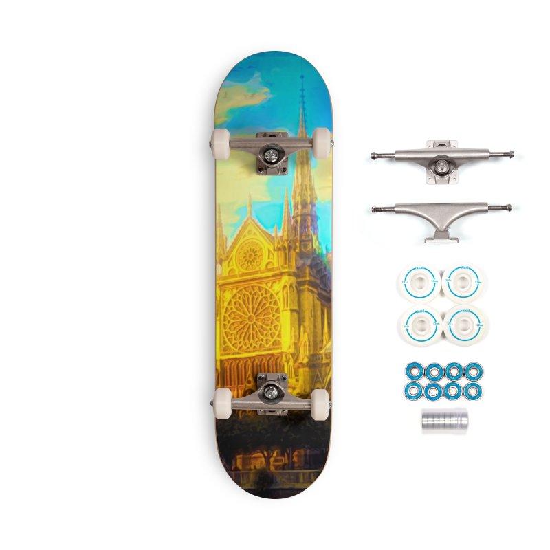 Notre Dame Paris Accessories Complete - Basic Skateboard by Jasmina Seidl's Artist Shop