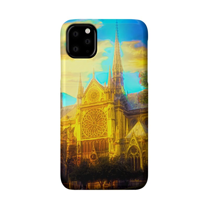 Notre Dame Paris Accessories Phone Case by Jasmina Seidl's Artist Shop