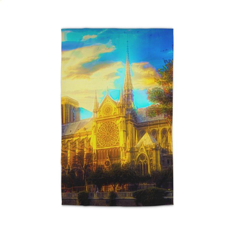 Notre Dame Paris Home Rug by Jasmina Seidl's Artist Shop