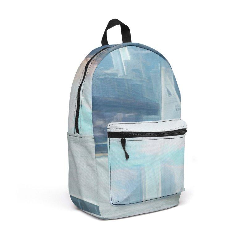 Skyline Accessories Backpack Bag by Jasmina Seidl's Artist Shop