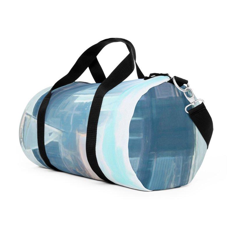 Skyline Accessories Duffel Bag Bag by Jasmina Seidl's Artist Shop