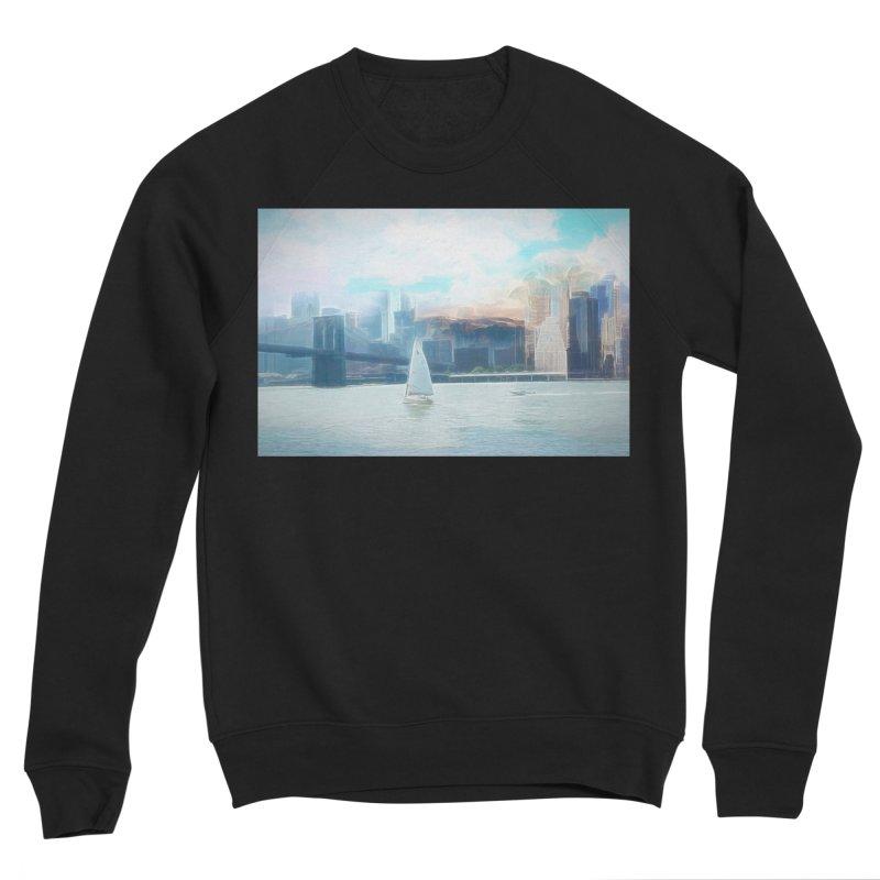 Skyline Women's Sponge Fleece Sweatshirt by Jasmina Seidl's Artist Shop
