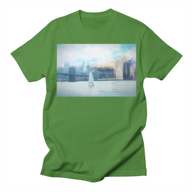Skyline Women's Regular Unisex T-Shirt by Jasmina Seidl's Artist Shop