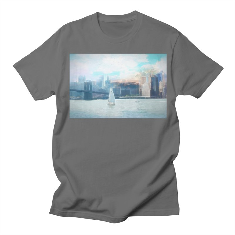 Skyline Men's T-Shirt by Jasmina Seidl's Artist Shop