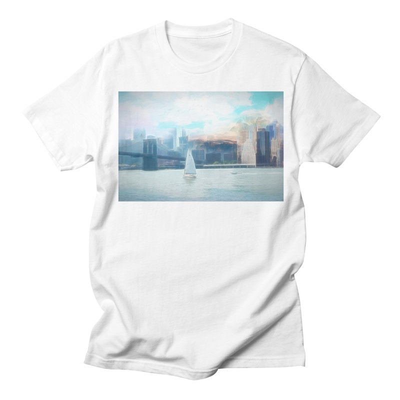 Skyline Women's Regular Unisex T-Shirt by Jasmina Seidl's Artist Shop