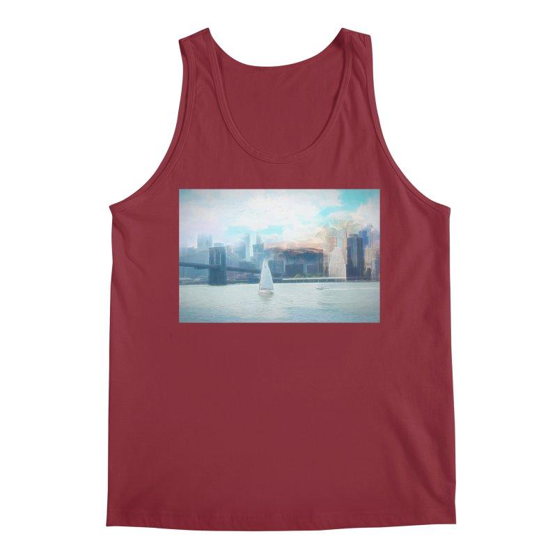 Skyline Men's Regular Tank by Jasmina Seidl's Artist Shop