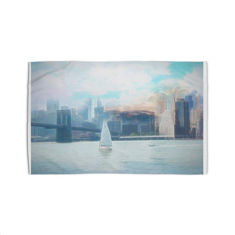 Skyline Home Rug by Jasmina Seidl's Artist Shop