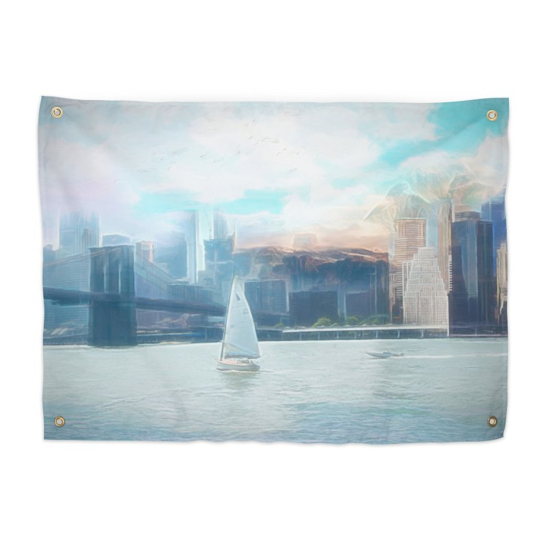 Skyline Home Tapestry by Jasmina Seidl's Artist Shop