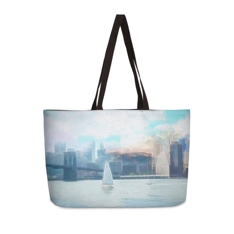 Skyline Accessories Weekender Bag Bag by Jasmina Seidl's Artist Shop