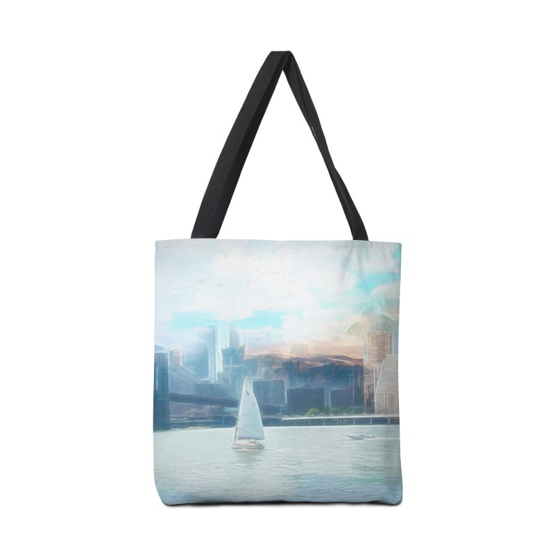 Skyline Accessories Tote Bag Bag by Jasmina Seidl's Artist Shop