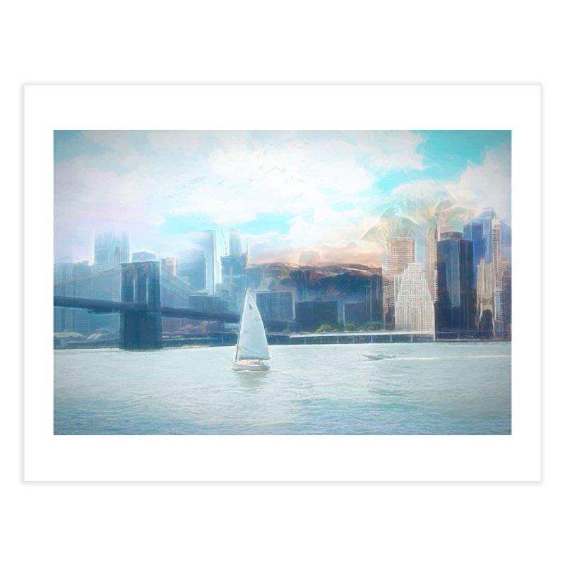 Skyline Home Fine Art Print by Jasmina Seidl's Artist Shop