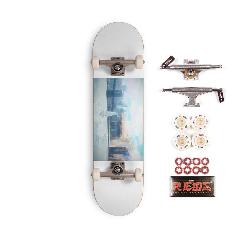 Skyline Accessories Complete - Pro Skateboard by Jasmina Seidl's Artist Shop