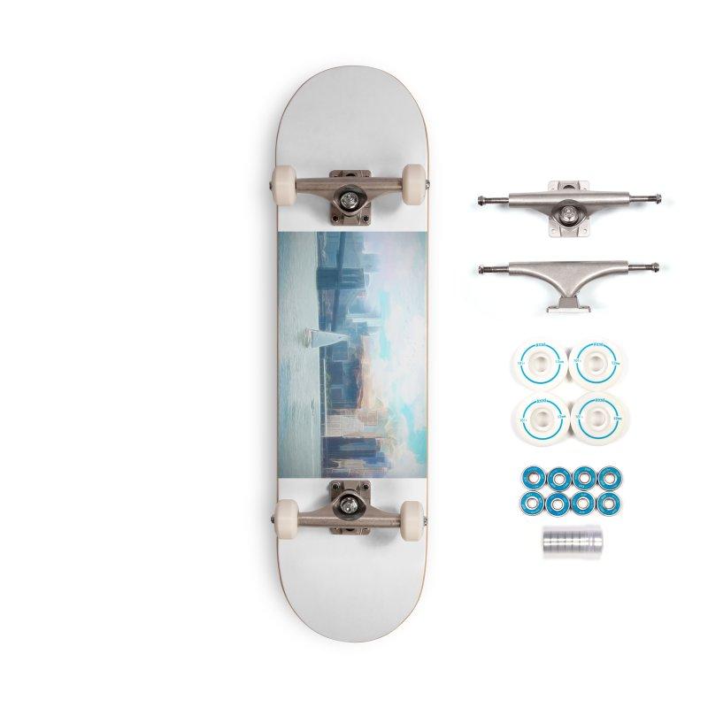 Skyline Accessories Complete - Basic Skateboard by Jasmina Seidl's Artist Shop