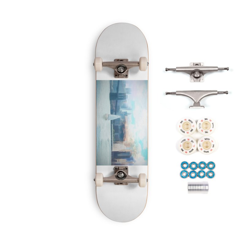 Skyline Accessories Complete - Premium Skateboard by Jasmina Seidl's Artist Shop