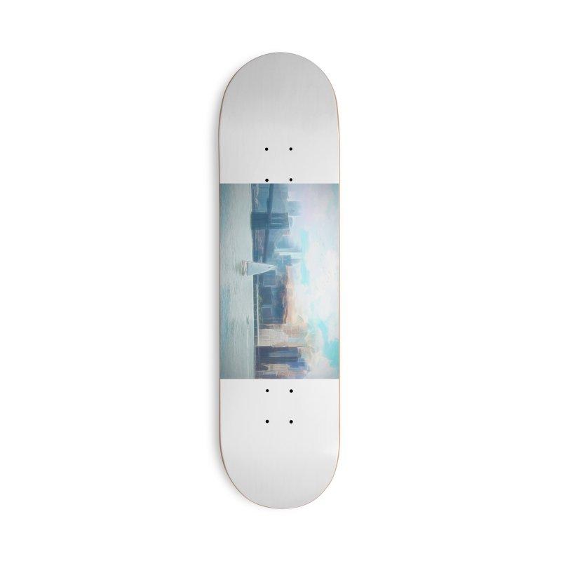 Skyline Accessories Deck Only Skateboard by Jasmina Seidl's Artist Shop